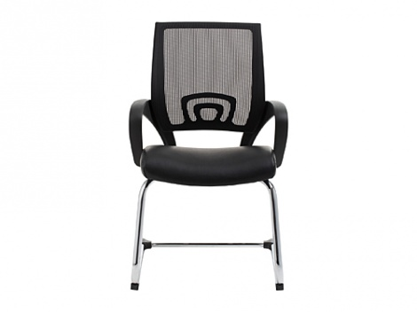 View Visitors Chair - Black
