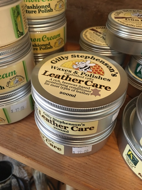 Gilly Stephenson Leather Care