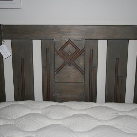 Hand crafted headboard