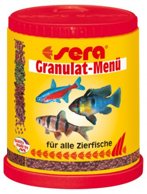 Sera Granulate Menu