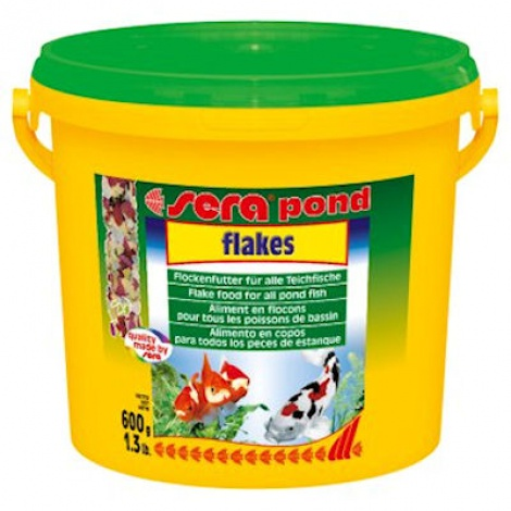 Sera Pond Flakes 600g Bucket