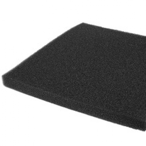 Self-Cut Black Fine Filter Sponge - 15ppi