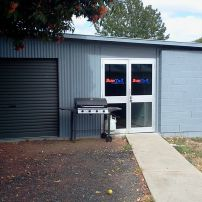 Our new workshop, Note the doors, clear,35,20,5% films