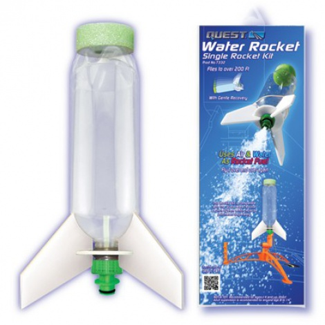 Single Water Rocket Parts