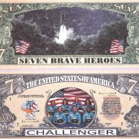 Space Shuttle Challenger Banknote