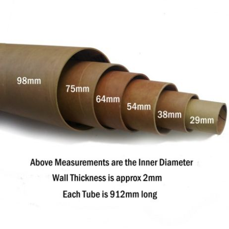 Phenolic Tube 98mm