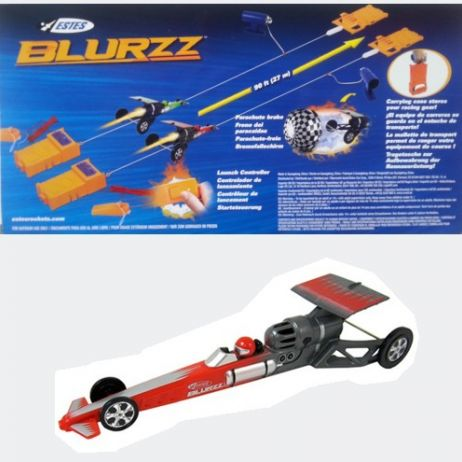 Rocket Powered Dragster