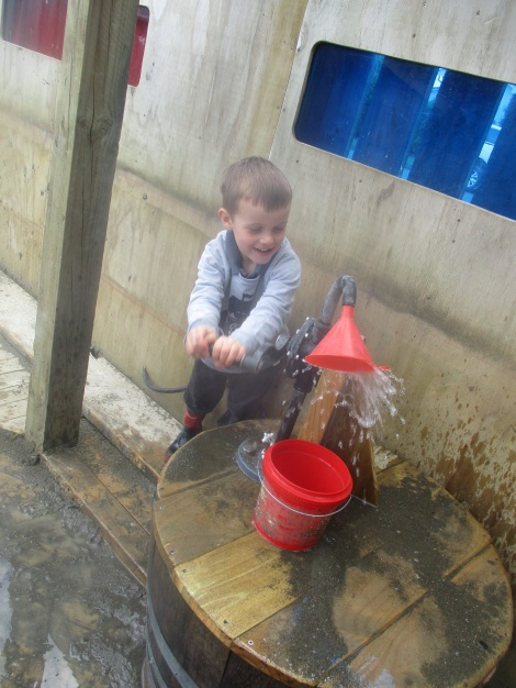 Our new water pump