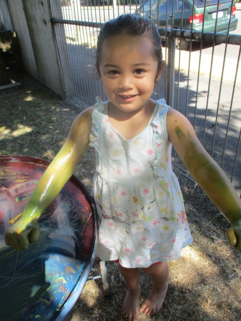 More messy play