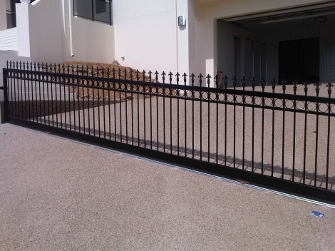Sliding Gate with Motor