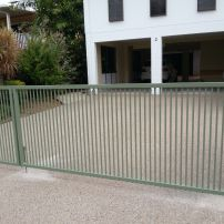 Double Aluminium Gates
