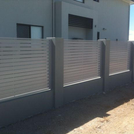 Horizontal Powdercoated Aluminium Slatted Panels