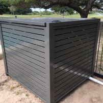 Slatted Aluminium Pool Filter Cover