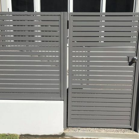 Horizontal various sized Slatted Gate and panel insert