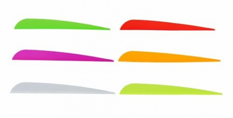 "Trad Vanes 5"" Orange"
