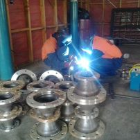 Fitting up reducers