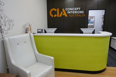 CIA Reception Desk