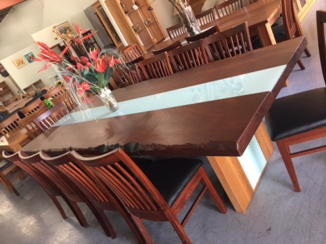 T09 JARRAH DINING TABLE