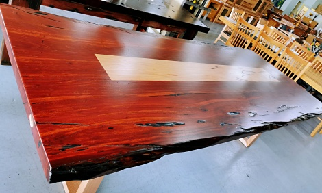 T17 JARRAH + MESSMATE DINING TABLE