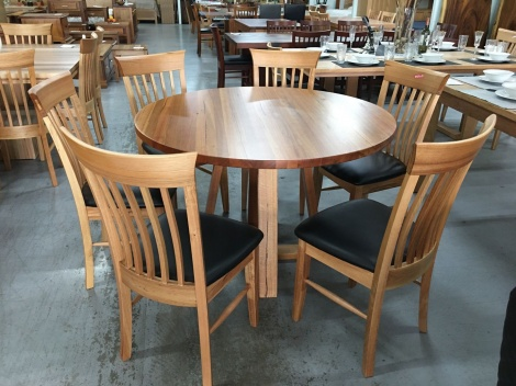 T20 MESSMATE ROUND DINING TABLE