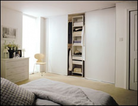Prefinished Melamine Wardrobe Sliders