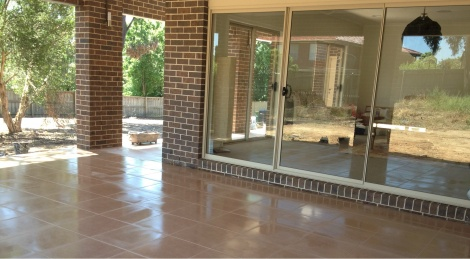 OUTSIDE FLOOR TILING