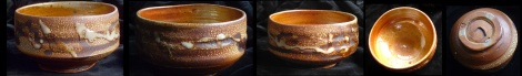 LOW SIDED SHINO CHAWAN BY DUNCAN SHEARER