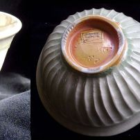 CHAWAN OR  POTTERY TEA BOWL BY CHESTER NEALIE IN WHITE