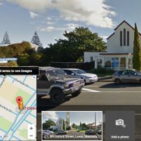 Levin Uniting Church location