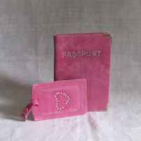 passport cover & luggage label