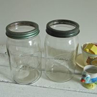 Agee glass jars