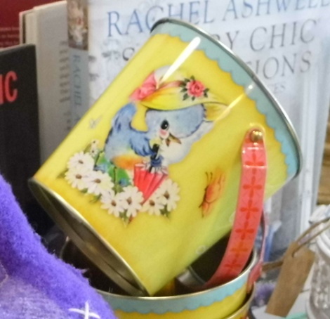 easter tin bucket