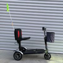 Lightweight folding mobility scooter
