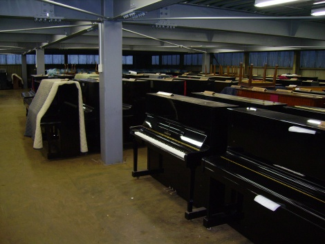 4:5 PIANO REFURBISHING FACTORY JAPAN