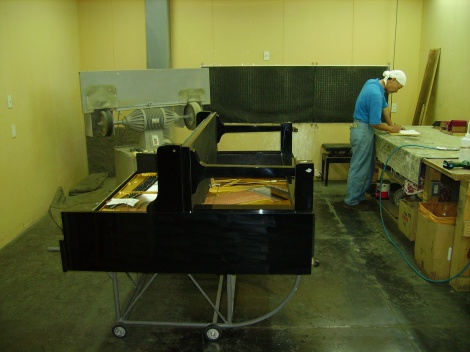 4:4 PIANO RE-ASSEMBLY JAPAN