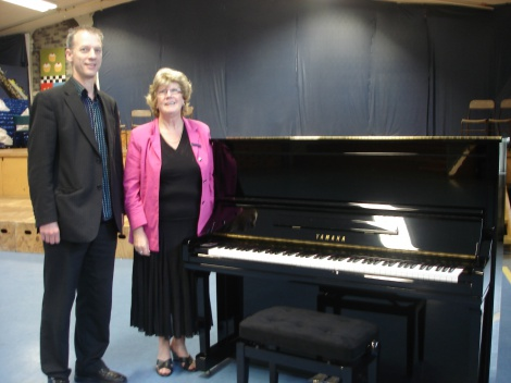 3:3 CORNWALL PARK SCHOOL PREMIUM YAMAHA U3 PROFESSIONAL UPRIGHT PIANO INSTALLATION