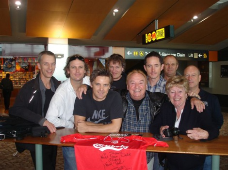 5:09 THE NZ TOUR PARTY OF GERRY MARSDEN & THE PACEMAKERS WITH SPECIAL GUEST SHANE CORTESE