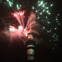 5:11 ATOP THE SKY TOWER ORBIT RESTAURANT SEEING IN THE NEW YEAR PERFORMING IN THE DIANA HARRIS TRIO