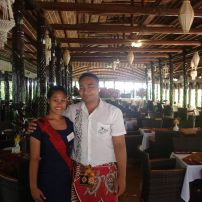 5:10 FRIENDLY STAFF AT AGGIE GREY'S FAMOUS HOTEL AT THE SAMOA INTERNATIONAL JAZZ & BLUES FESTIVAL