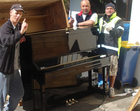 4:8 THE FIRST DT PIANOS AND MUSIC IMPORT PIANO FROM JAPAN