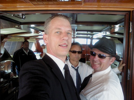 5:11 RWC RUGBY WORLD CUP JAZZ TRIO ABOARD A PRIVATE SUPERYACHT IN THE VIADUCT HARBOUR AUCKLAND
