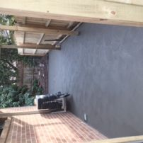 Plain Concrete grey base