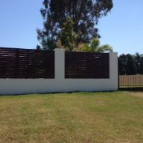 Block and Timber Fence