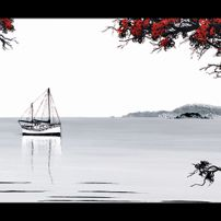 St Michael and the Pohutukawa III