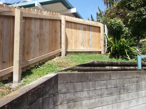 1.2m Rail over Post fence