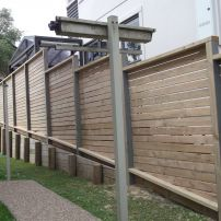 1.8m Stepped Horizontal Premium Timbers