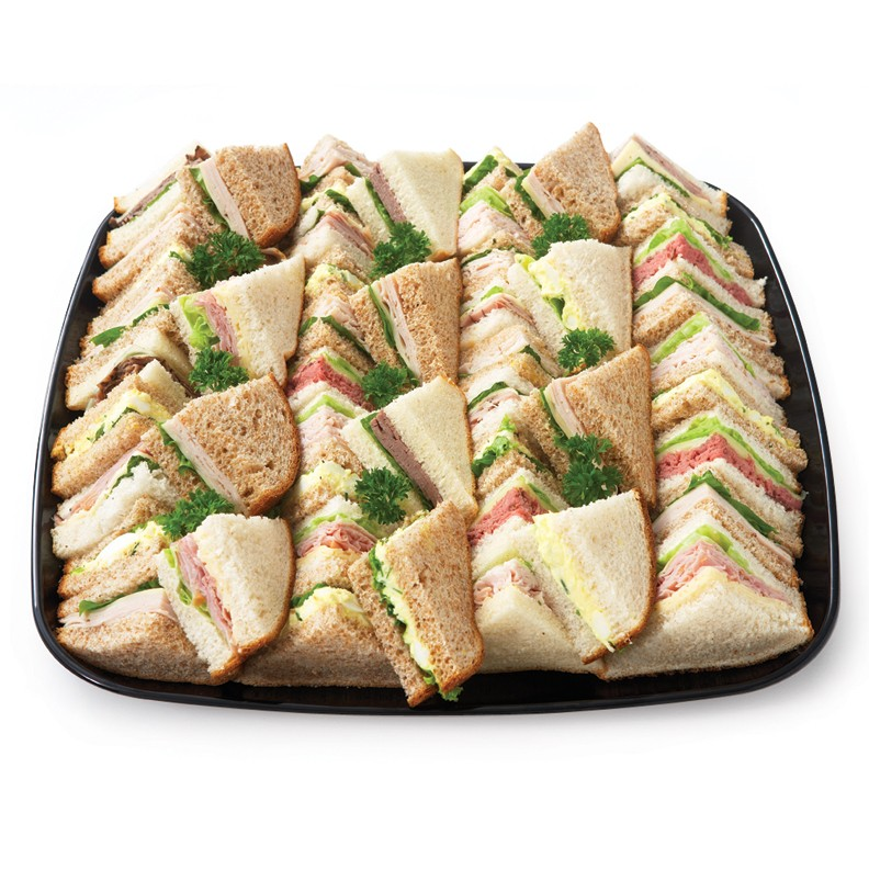 Triangle Cub Sandwiches Nutmeg Gourmet Catering