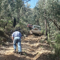 75 Series Recovery - Dry Bogged