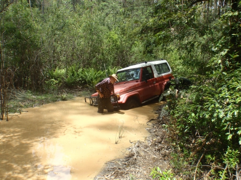 Shorty Land Cruiser Recovery