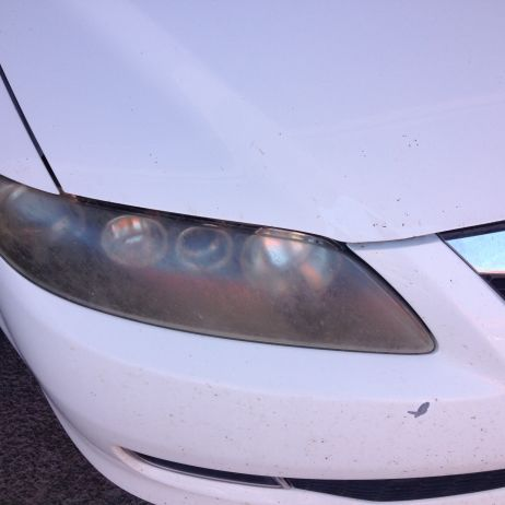 Headlight repair before